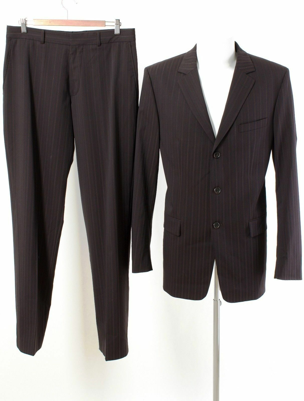 HUGO BOSS RED LABEL Anzug WIE NEU  Gr. 98 (M Schlank) Wolle Business Suit