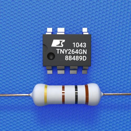 TNY264GN +1 Widerstand 100 Ohm 3 Watt Reparaturset AEG Whirlpool Bauknecht