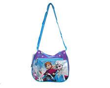 Large Disney Frozen Elsa Anna Purple Pink Shoulder Purse Bag/Messenger Bag-New!