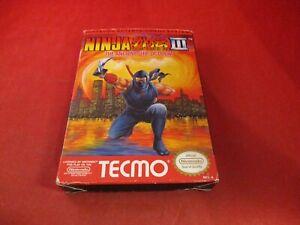 Ninja Gaiden Iii Nintendo Nes Empty Box Only No Manual Game Ebay