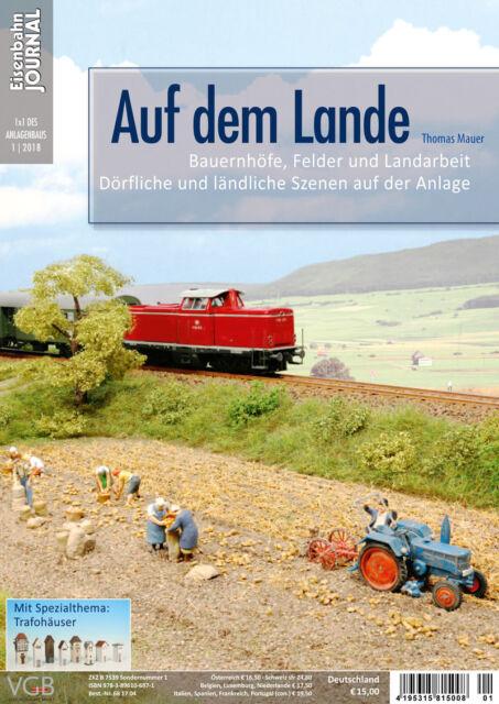 Eisenbahn Journal - Auf dem Lande - 1x1 des Anlagenbaus 1-2018
