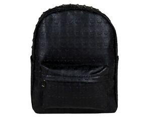 EMBOSSED-SKULL-GOTHIC-GOTHX-Stud-Black-Backpack-Rucksack-School-Rock-Goth-Bag