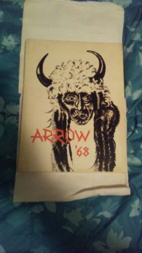 1968 Sioux City East High Arrow annual yearbook