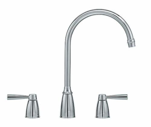 New RRP £246.50 Franke Augusta 3 hole kitchen mixer tap chrome