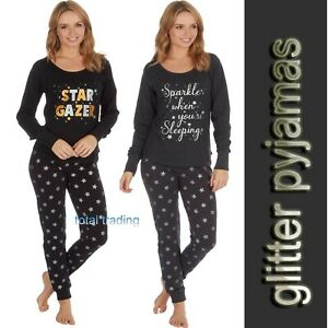 Ladies-Womens-Pyjamas-pj-Set-Long-Sleeve-Top-Nightwear-LoungeWear-pajamas-new-cl