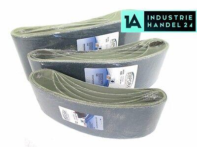 10er Pack Schleifband 915 mm x 100 mm K/örnung 60 Schleifpapier Gewebeschleifband