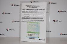 NEU: 5 GERÄTE CAL (DEVICE) FÜR MICROSOFT SQL SERVER 2005 STANDARD