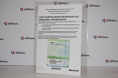 Fornito Nuovo: 5 Dispositivi Cal (device) Per Microsoft Sql Server 2005 Standard-