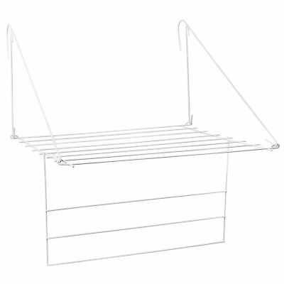 Compact Utility Airer Door Clothes Towel Dryer Rack Folding New By Home Discount
