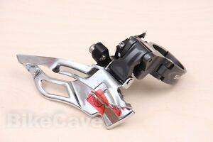 Shimano-SLX-3x10-Dual-Pull-Front-Derailleur-FD-M661-10-34-9-Clamp-Bottom-Top-New