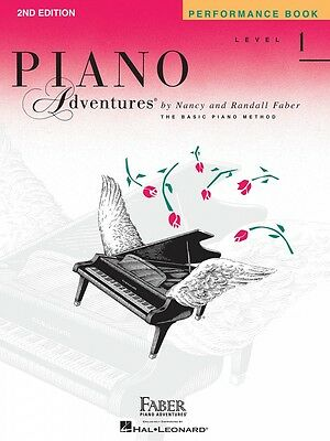 Instruction Books, Cds & Video Musical Instruments & Gear Generous Level 1 Performance Book 2nd Edition Piano Adventures Faber Piano New 000420173 Pretty And Colorful