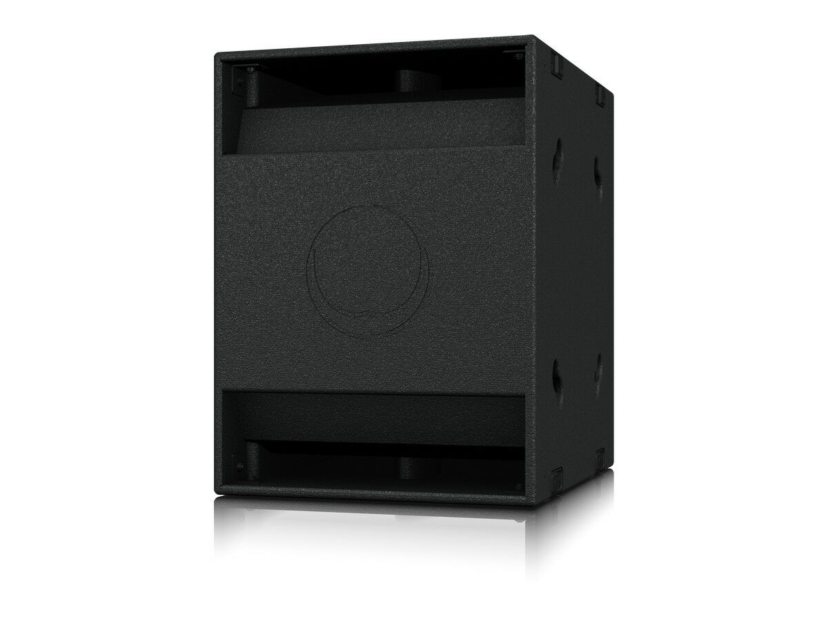 Turbosound NuQ118B 18 inch Band Pass Subwoofer for Portable  PA/33Hz-150Hz/Black
