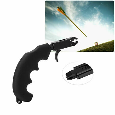 Handle Thumb Archery Caliper Bow Release Grip Compound bow Archery Release Aid