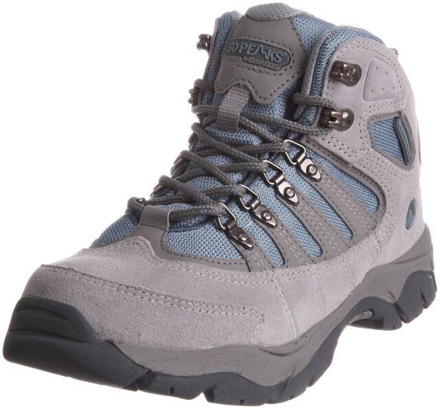 Ladies 50 peaks Hi-tec - Mckinley - Leather Suede hiking boots
