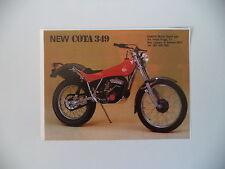 advertising Pubblicità 1982 MOTO MONTESA COTA 349