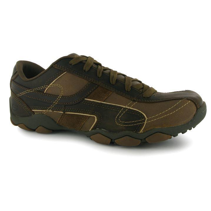 Scarpe casual da uomo Skechers uomos Gents DIAMETRO TORINO Running Scarpe da ginnastica Pompe Scarpe Sportive con Lacci