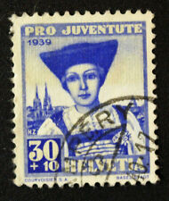 Timbre SUISSE - Stamp SWITZERLAND - Yvert et Tellier n°357 (c) obl (Cyn16)