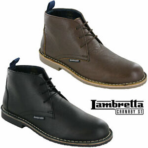 Lambretta MOD Desert Boots Leather