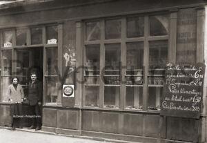 Toulouse Photo ancienne 1920 retirage Commerce Epicerie Alimentation Primeur Overig