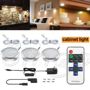 Image Is Loading Under Cabinet Lighting Remote Kit LED Light Puck