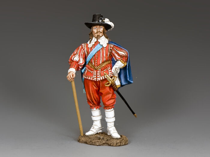 "King and Country ""Pike & Musket"" King Charles I PnM067"