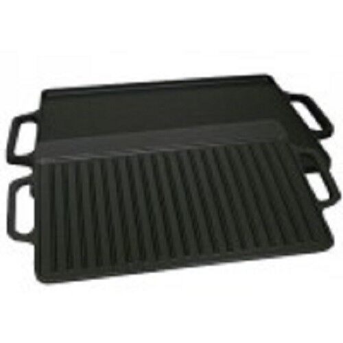KitcheNet Reversible Griddle Grill Pan - 15  x 9