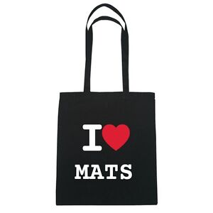 I-LOVE-Mats-Bolsa-de-yute-Hipster-Color-Negro