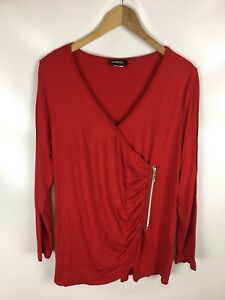 AMBRIA-SELECTION-Shirt-Rot-Groesse-42