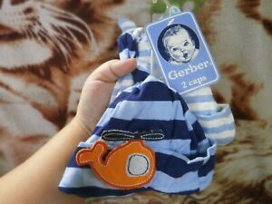 CLOSEOUT-SALE-Imported-FROM-USA-Gerber-2-Pc-Bonnet-0-6M