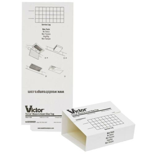 Mice Insects M309 Victor Tin Cat Mouse Trap Glue boards 72 Glueboards
