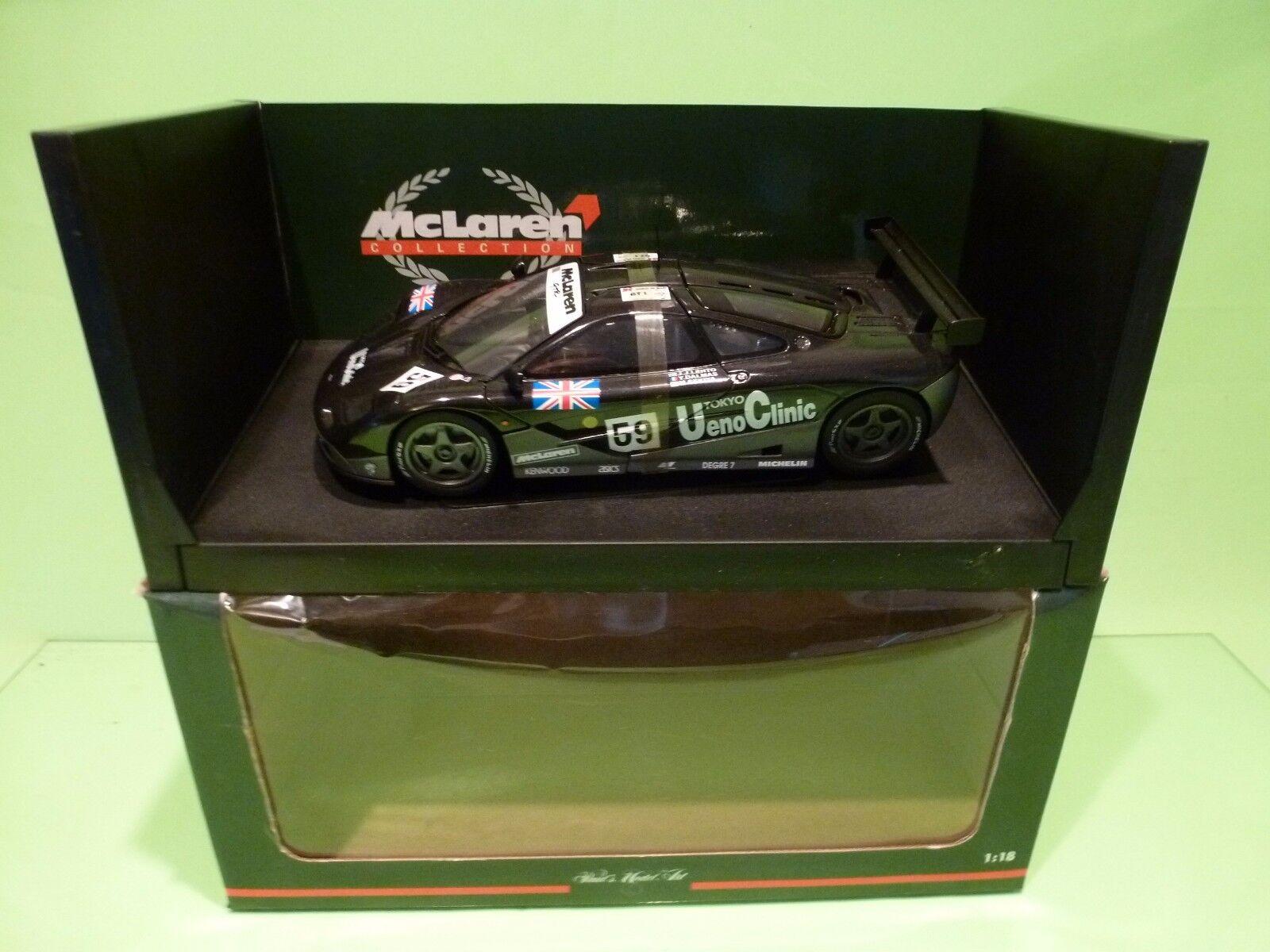 UT MODELS 151859 McLAREN F1 GTR KAKUSAI - 1st LE MANS GT1 - 1 18 - EXCELLENT