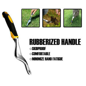 Heavy Duty Hand Weeder Garden Weeding Removal Cutter Tools with Ergonomic Handle