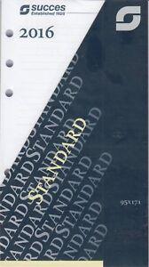 Succes-Standard-2016-Kalender-1Woche-2Seiten-Wochenblaetter-A6-XTD7-16-deutsch