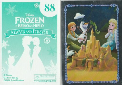PANINI FROZEN ALWAYS AND FOREVER PICK 10 STICKERS FROM LIST MINT