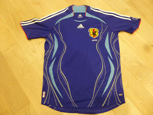Vintage Adidas 2006 World Cup Japan Blue Climacool Home Jersey ...