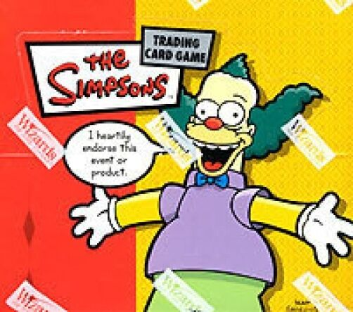 ¡Caja de propulsores Simpson, tarjeta 36ct, juego cerrado cerrado cerrado  663
