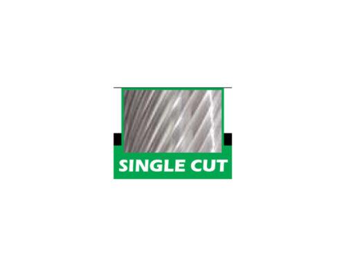 "SG-3 Tree Shape Pointed 3//8/"" Diameter Carbide Burr Single Cut"