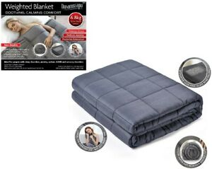 Weighted-Blanket-Warm-Sleep-Soothing-Calming-Comfort-Gravity-Sensory-Double-Size