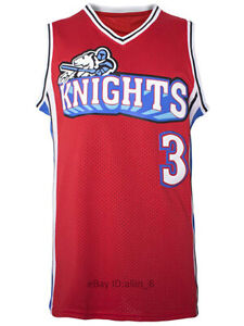 Calvin-Cambridge-3-LA-Knights-Men-039-s-Basketball-Jersey-Like-Mike-Movie-Stitched