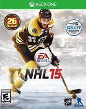 EA Sports NHL 15 (XBOX One, Electronic Arts) Hockey - Brand New/Factory Sealed