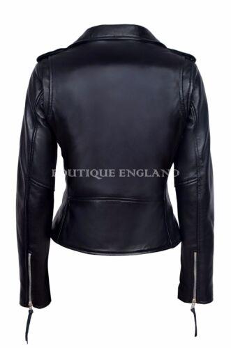 Style Urban Napa adatta donna giorno pelle da a per MBF da Giacca in motociclista T4qnPT7g