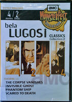 Bela Lugosi - Classics Collection 2 - (4) Movies On (2) Dvds - Still Sealed