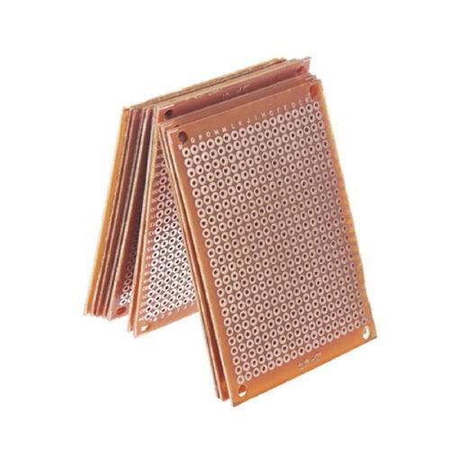 5PCS Solder Finished Prototype Copper PCB DIY Circuit Breadboard Tools Parts