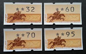 SJ-Portugal-Horse-Rider-1990-ATM-frama-label-stamp-MNH