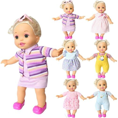 Baby Alive Clothes Set Of 6 For 12-14-16 Inch Alive Lovely Baby Doll Clothes Dre