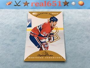 1996-Donruss-Canadian-Ice-Gold-98-STEPHANE-RICHER-1-150-Montreal-Canadiens