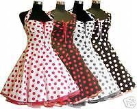 ab1252ed35b2b4 Das Bild wird geladen Petticoat-50er-Jahre-Tanzkleid-Kleid-Rock-039-n-