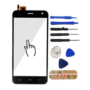 Front Touch Screen Glass Digitizer Panel Lens Adhesive For Homtom HT3 / HT3 Pro