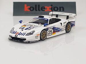Minichamps 430976825 Porsche 911 Gt1 N ° 25 Le Mans 1997 Coincé - Boutsen Wo 1.43