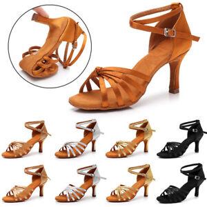 Scarpe-ballo-Da-donna-Donna-da-Ballo-Latino-Sala-tango-da-Ballo-Scarpe-da-ballo